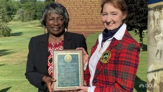 Donald Ross Award presented to Renee Powell
