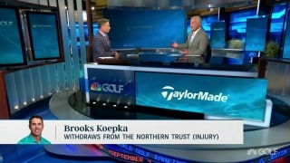 Isenhour: Koepka injuries 'starting to snowball a little bit'