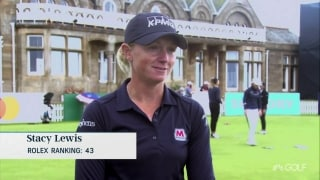 'This week is so cool': Lewis on LPGA playing at Royal Troon