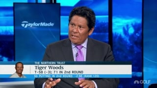 Begay on Tiger's iron play: 'Has to create more chances'