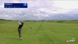 Highlights: Popov (67) opens up 3-shot lead at Women's Open