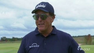 Phil 'had a great time' winning Champs debut