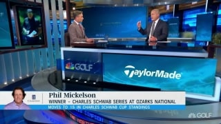Isenhour: Phil must drive it better at Winged Foot than Ozarks National