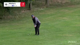 Highlights: Walters (64) leads weather-suspended UK Championship
