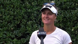 Nordqvist (62) will continue to play her game in final round