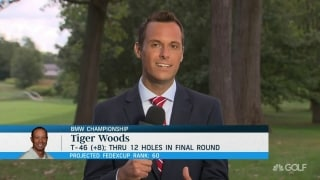 Tiger's frustrations at BMW Championship
