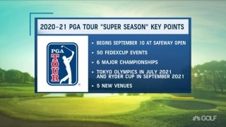 Takeaways from 2020-21 PGA Tour 'Super Season'