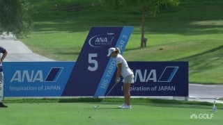 'Oh my': Kang inches from an ace at No. 5
