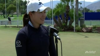 Tan (68) not playing with any pressure at ANA Inspiration