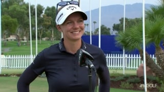 Sagstrom: 'Kept it in play' for an opening 67 at ANA