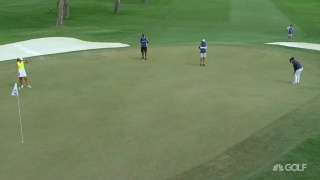 Yin drains long eagle putt on No. 11