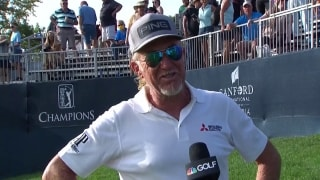 Jimenez, from 'a little stressed' to champion at Sanford International