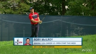 Lynch: Rory 'fighting with driver' at Winged Foot