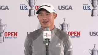 Morikawa: Not focused on PGA win, but let's win the U.S. Open