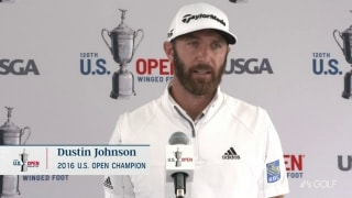 DJ reflects on efforts to improve putting alignment
