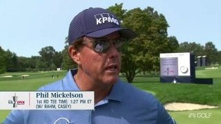 Phil reflects on 2006 U.S. Open: 'That was 14 years ago'