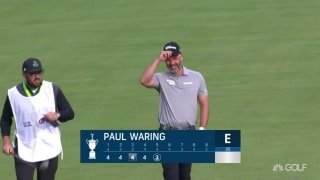U.S. Open Day 1: Waring holes out from the fairway on No. 5