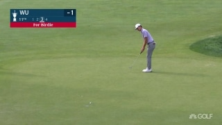 U.S. Open Day 1: Wu drains another long birdie par-4 11th