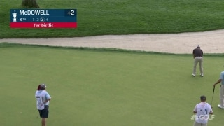 U.S. Open Day 1: McDowell drains 25-footer for birdie