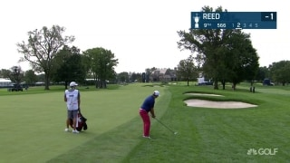 U.S. Open Day 1: Reed hits great fairway wood to escape thick rough