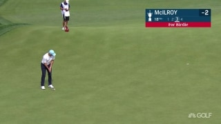 U.S. Open Day 1: Rory drains long birdie to get to 3 under