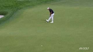 U.S. Open Day 1: Tiger drains long birdie on No. 9