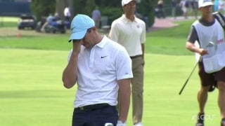 U.S. Open Day 1: Rory bewildered by poor wedge shot