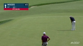 U.S. Open Day 1: Tiger makes back-to-back birdies