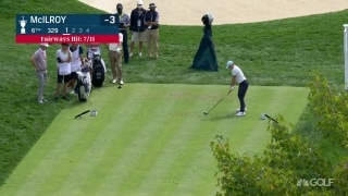 U.S. Open Day 1: Rory drives green at par-4 sixth