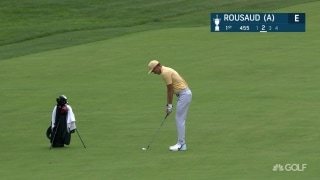 U.S. Open Day 1: Rousaud (a) holes out for eagle to start championship