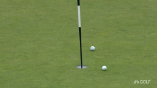 U.S. Open Day 1: Michel (a) almost holes out after hitting other ball