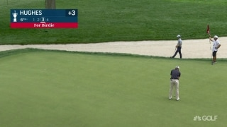 U.S. Open Day 1: Hughes' long birdie on No. 6