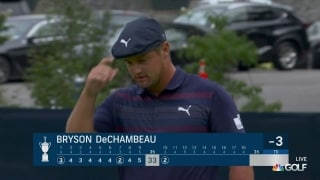 U.S. Open Day 1: DeChambeau rolls in birdie bomb at No. 10