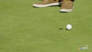 Rules of Golf: Ball accidentally moves after being replaced on green