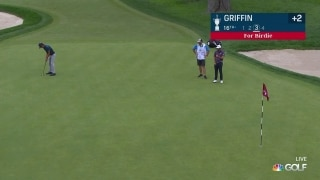 U.S. Open Day 1: Lanto Griffin long birdie putt on No. 16