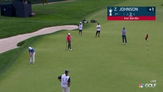 U.S. Open Day 1: Z. Johnson pulls off circus birdie putt