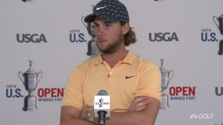 Another new dad: Pieters (66) feeling more calm at Winged Foot