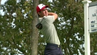 U.S. Open highlights: Thompson (69) leads amateurs after Day 1