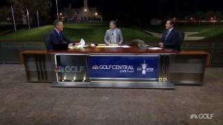 Will Winged Foot show its teeth on Day 2? Leonard: 'Maybe baby teeth'