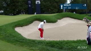 U.S. Open Day 2: Wolff escapes trouble on 15