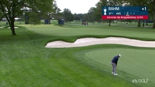 U.S. Open Day 2: Rahm to the pin from the fairway on No. 8