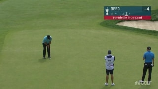 U.S. Open Day 2: Reed from downtown! Birdie falls at No. 11
