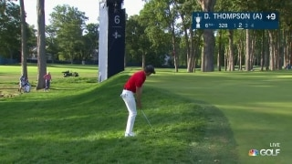 U.S. Open day 2: D. Thompson (a) holes out for eagle on No. 6