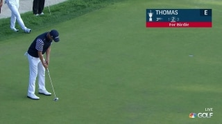 U.S. Open Day 2: JT sinks a birdie putt on No. 3
