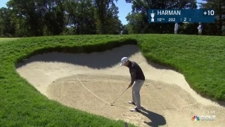 U.S. Open Day 3: Harman smacks pin from greenside bunker