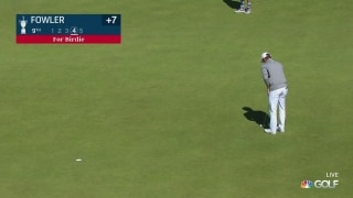 U.S. Open Day 3: Fowler snags a birdie at the turn