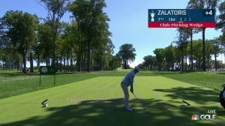 U.S. Open Day 3: Zalatoris fires one close to the flag on No. 7