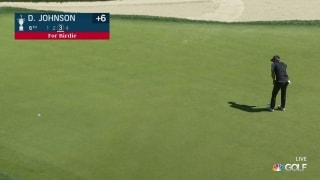 U.S. Open Day 3: DJ makes his first birdie of the day at No. 6