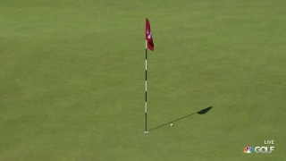 U.S. Open Day 3: Z. Johnson gets pitch to trickle in for eagle at No. 9