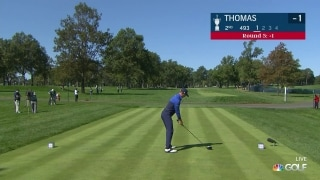 U.S. Open Day 3: JT flubs his tee shot on No. 2